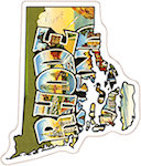 State of Rhode Island Magnets